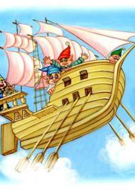 Летючий корабель