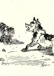 Розмова пса з котом