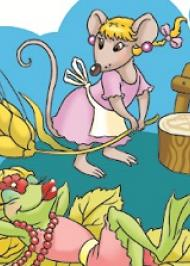 Миша й жаба