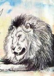 Лев і мишеня